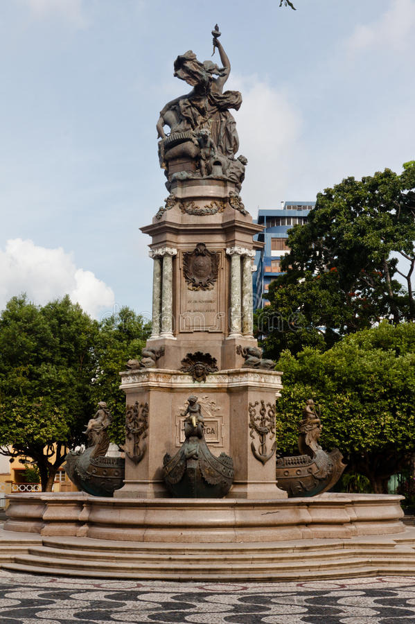 Download Monument In Manaus Brazil Royalty Free Stock Images - Image: 21941379