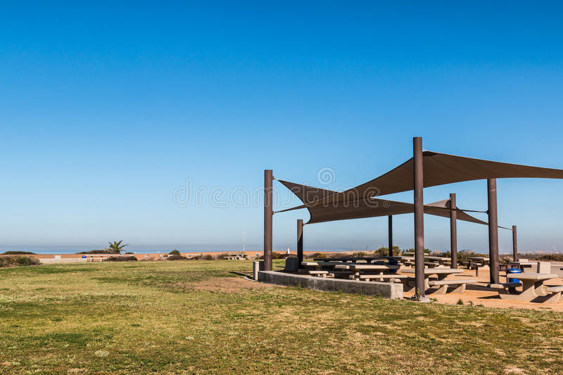 Monument Mesa at Border Field State Park royalty free stock photos