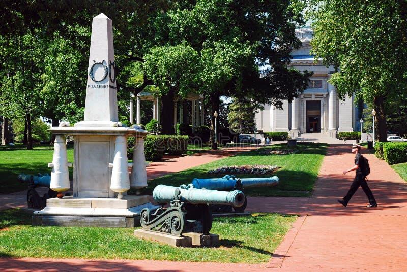 Monument mexicain, Académie Navale des USA images stock