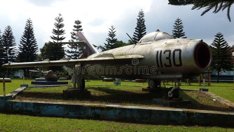 Monument Mig17 en Indonésie photos stock