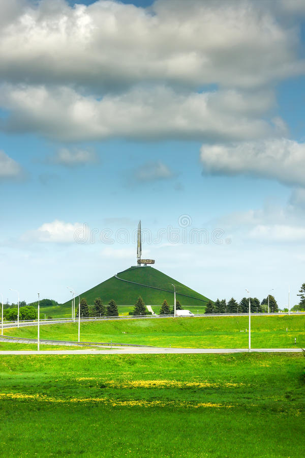 Monument in Minsk stock fotografie