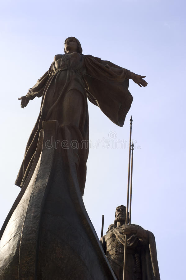 Download Monument Of The Mythical Founders Of Kiev Stock Photo - Image of monument, place: 15457486