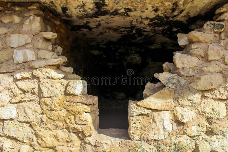 Monument national de canyon de noix images stock
