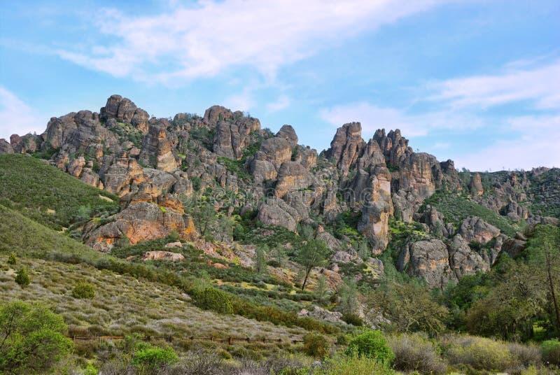 Monument national de pinacles photos stock