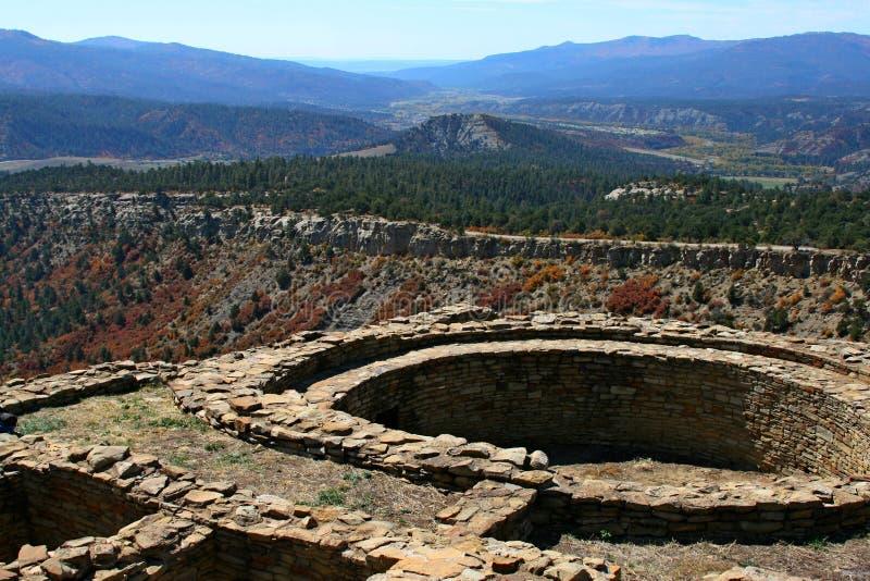 Monument national de roche de cheminée photographie stock