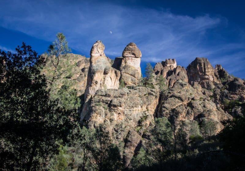 Monument national de sommets en Californie, Etats-Unis photo stock