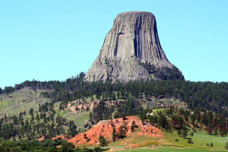 Monument national de tour de diables image libre de droits