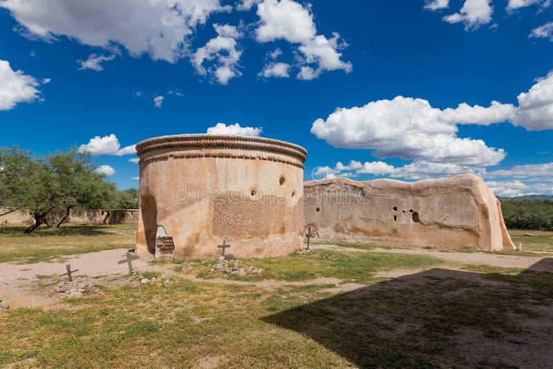 Monument national de Tumacacori photo stock