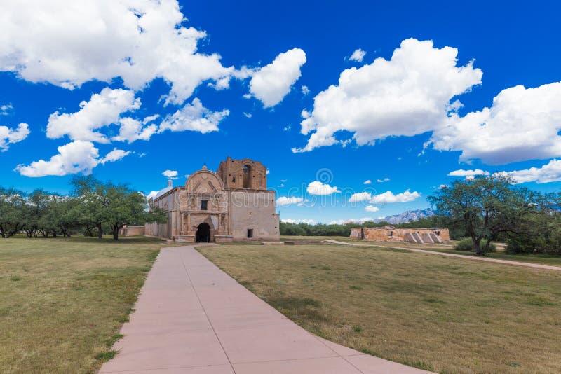 Monument national de Tumacacori image stock