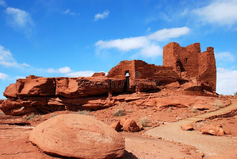Monument national de Wupatki image stock