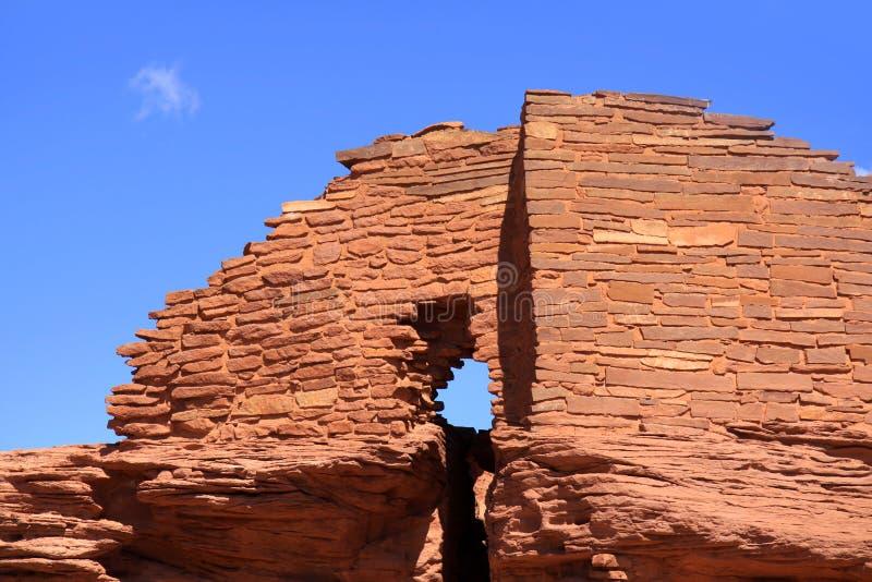 Monument national de Wupatki images libres de droits