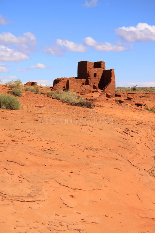 Monument national de Wupatki image libre de droits