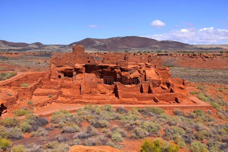 Monument national de Wupatki photo stock