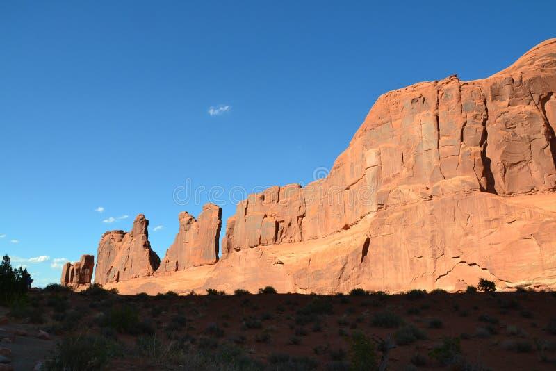 Monument national du Colorado photo stock