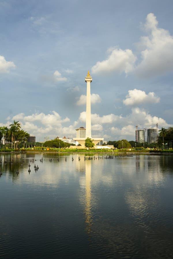 Monument National Jakarta, Indonesia stock photography