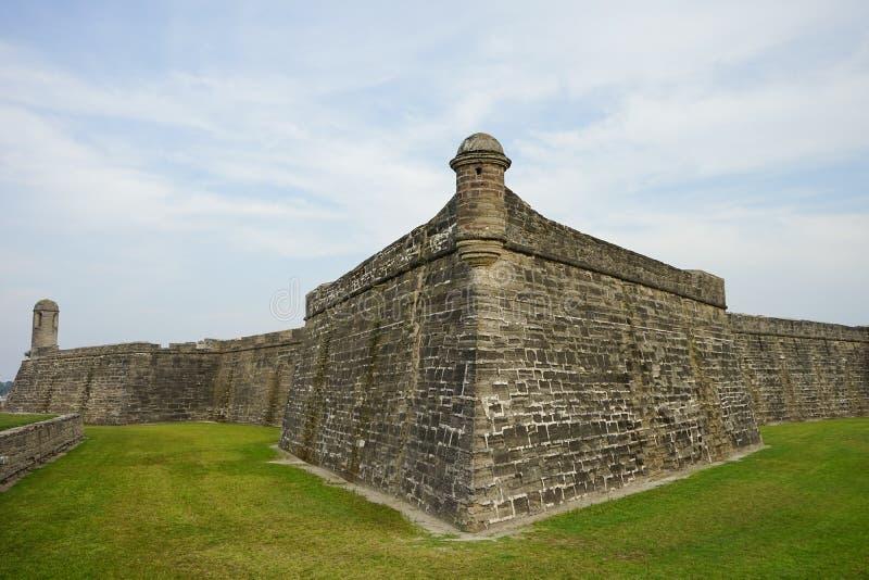 Monument national la Floride : Fort Castillo De San Marcos photos libres de droits