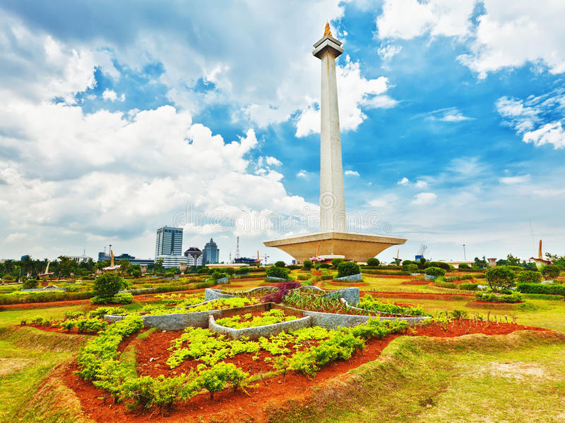 Monument national Monas images stock