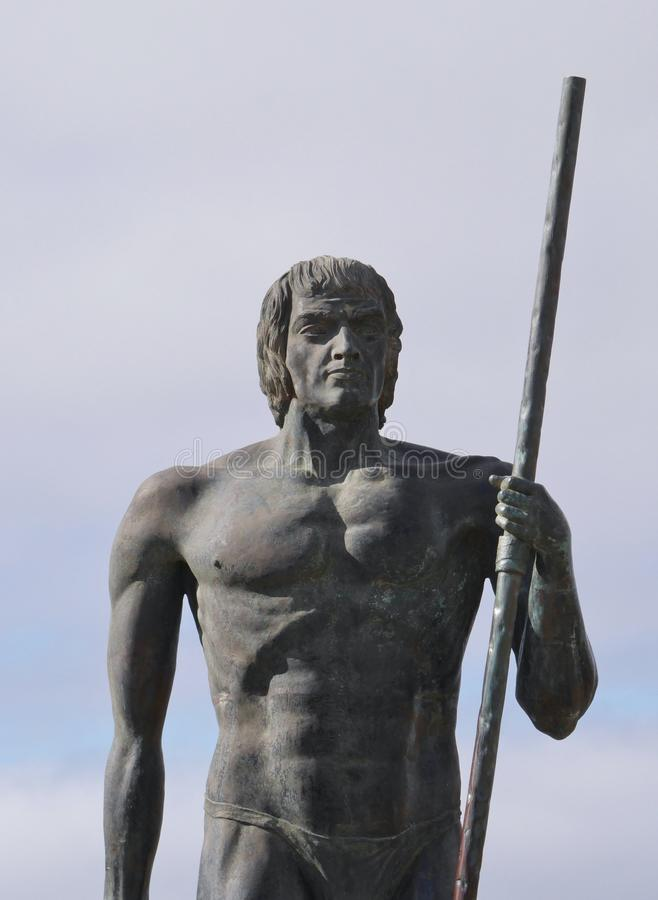 Free Monument Near Village Betancuria On Fuerteventura Stock Photo - 52338950