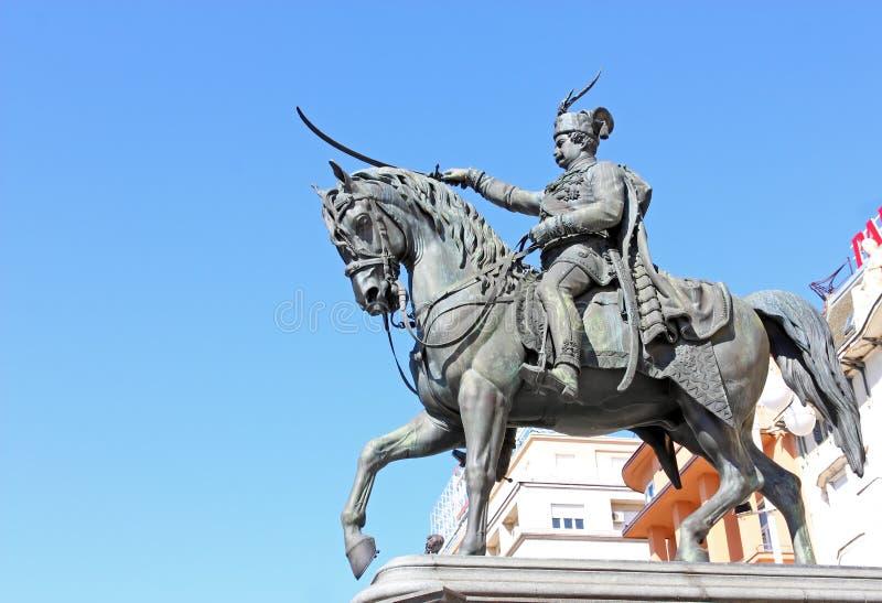 Monument om Jelacic te verbieden royalty-vrije stock afbeelding