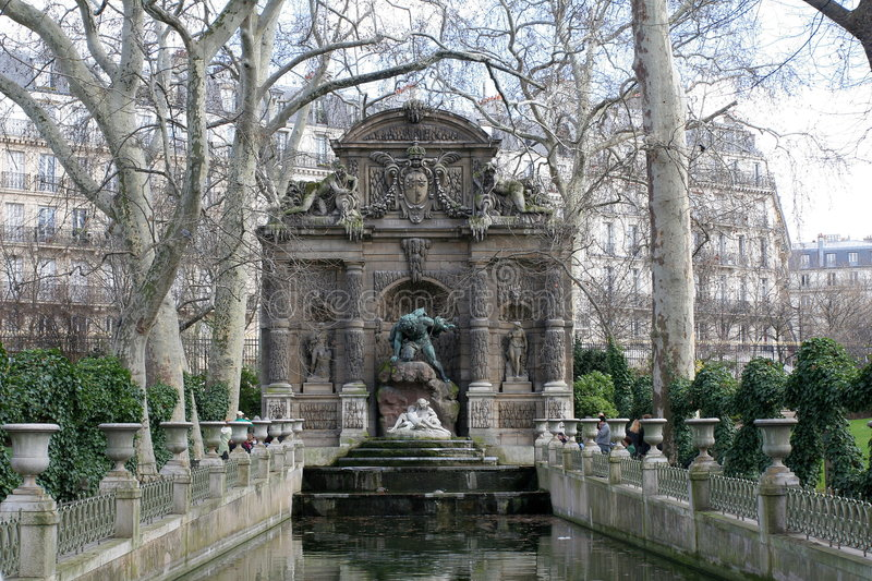 Monument in Paris royalty free stock photos