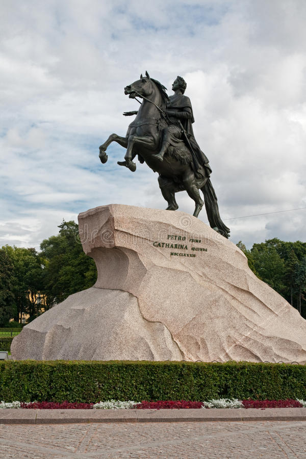 Download Monument Of Peter The First Stock Image - Image: 18446457