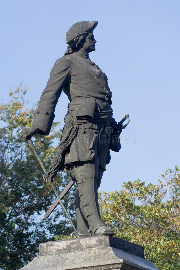 Download Monument Of Peter The Great Stock Image - Image: 24890427