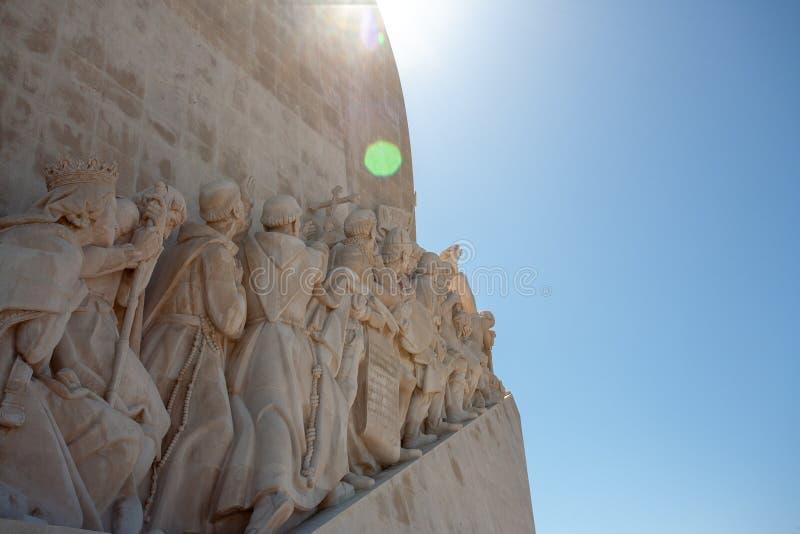 Monument pour des explorateurs à Belem Lisbonne Lisbonne Portugal photographie stock libre de droits