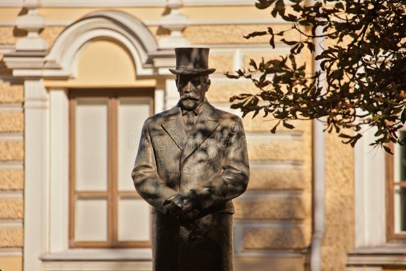Monument of president Antanas Smetona royalty free stock images