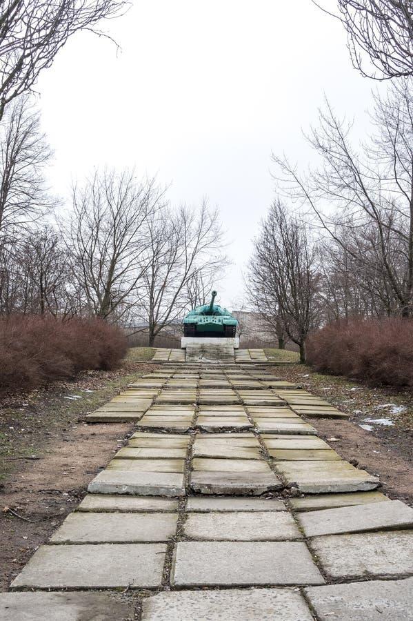 Monument-réservoir IS-3M image libre de droits
