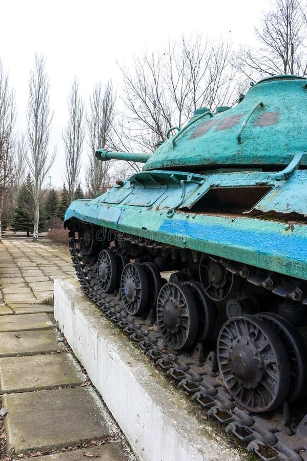 Monument-réservoir IS-3M images stock