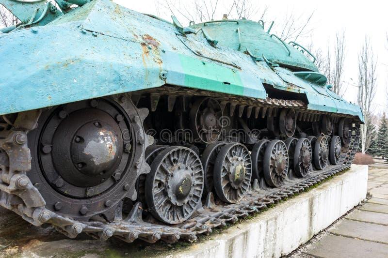 Monument-réservoir IS-3M photo stock