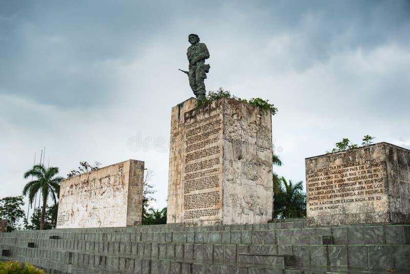 Monument révolutionnaire en dehors de Santa Clara Cuba photos stock