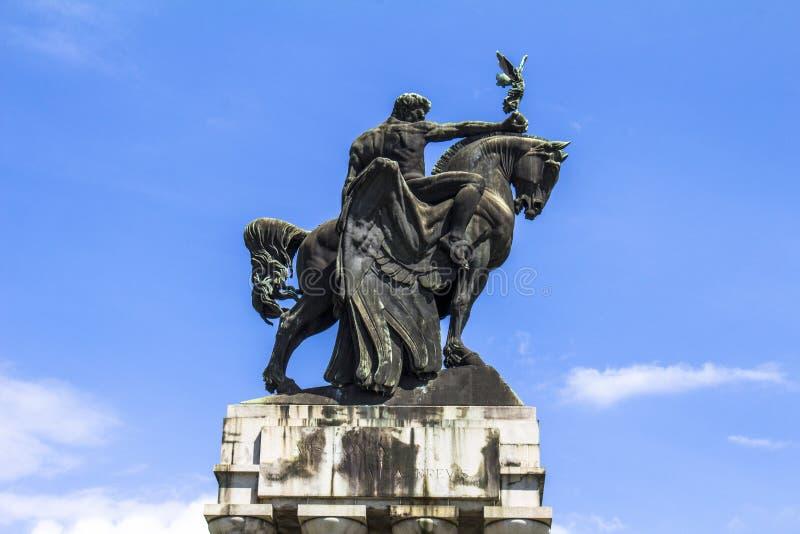 Monument Ramos de Azevedo fotografering för bildbyråer
