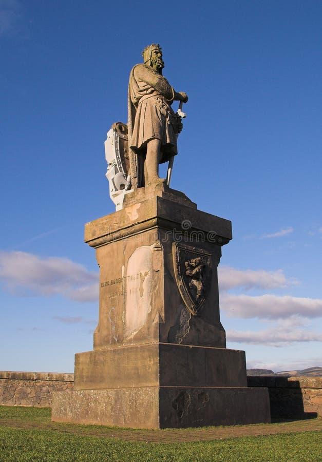 monument Robert stirling de château de bruce photos libres de droits