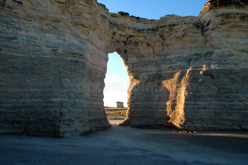 Monument Rocks stock photo