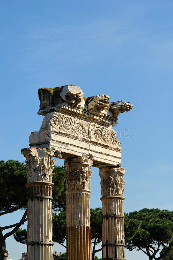 Download A Monument in Rome Italy stock image. Image of italy, pillar - 8266227