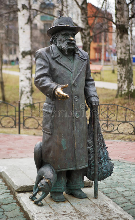 Download Monument Of Russian Writer Stepan Pisakhov Stock Image - Image: 22595147