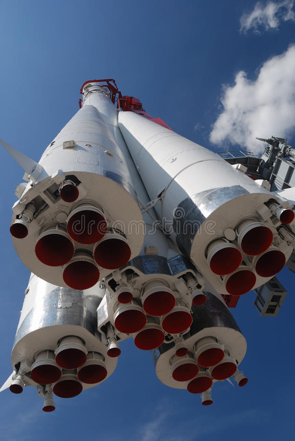 Download Monument Of Space Rocket Royalty Free Stock Photos - Image: 20775668