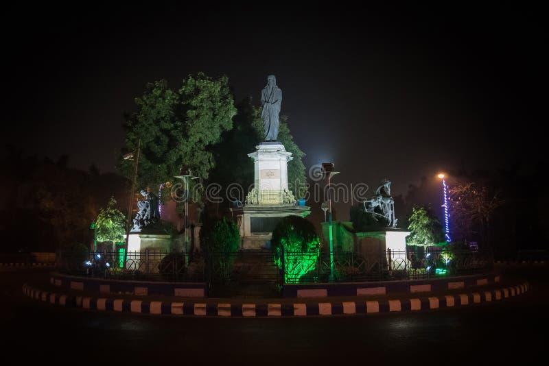 Monument of sri aurobindo Kolkata India. 12 January 2018 stock photography