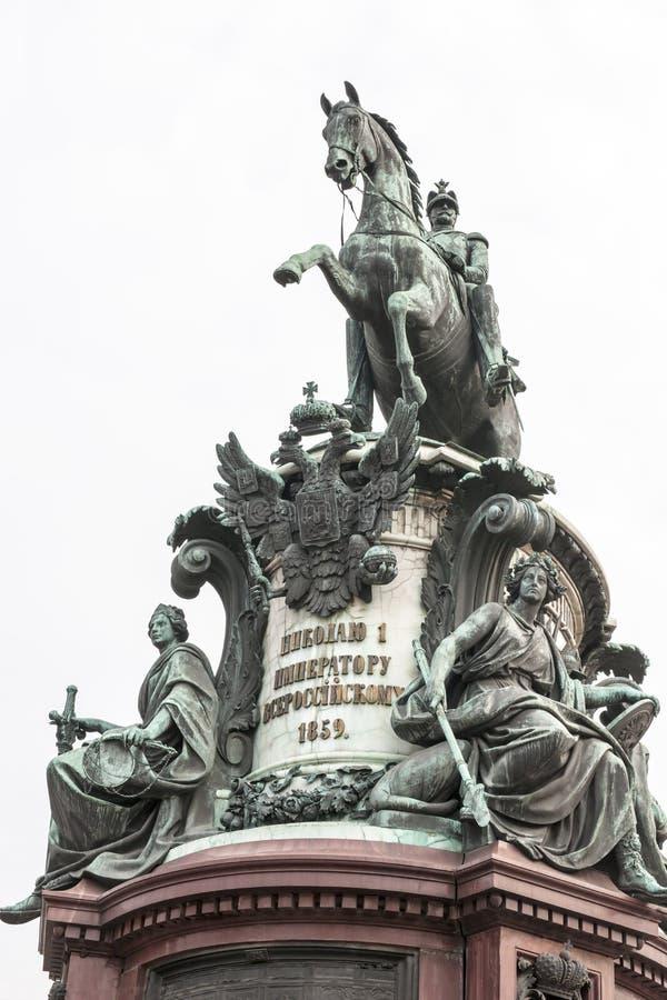 Monument in St. Petersburg royalty-vrije stock afbeeldingen