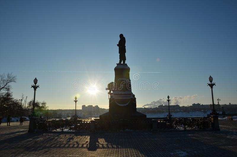 Monument, Statue, Landmark, Sky royalty free stock image