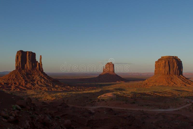 Monument-Tal-Ansicht #1 stockfoto