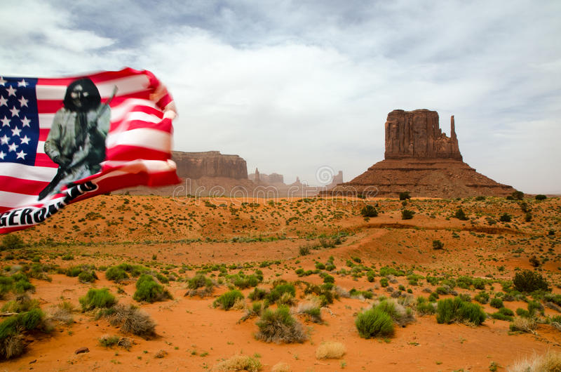 Monument-Tal - Arizona, USA stockbild