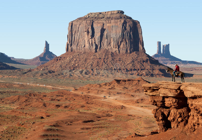 Monument-Tal im Südwesten der USA stockfoto