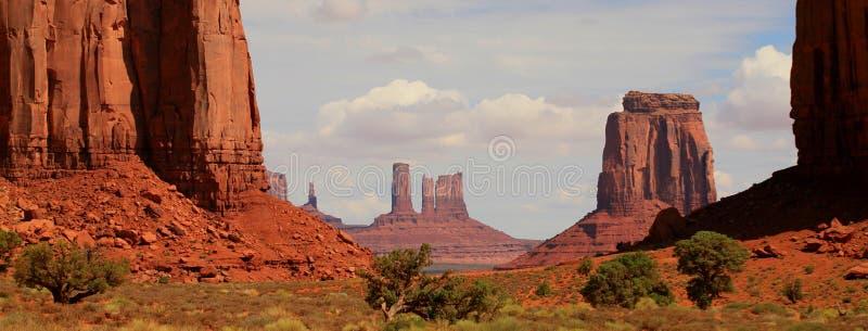 Monument-Tal Utah stockbilder