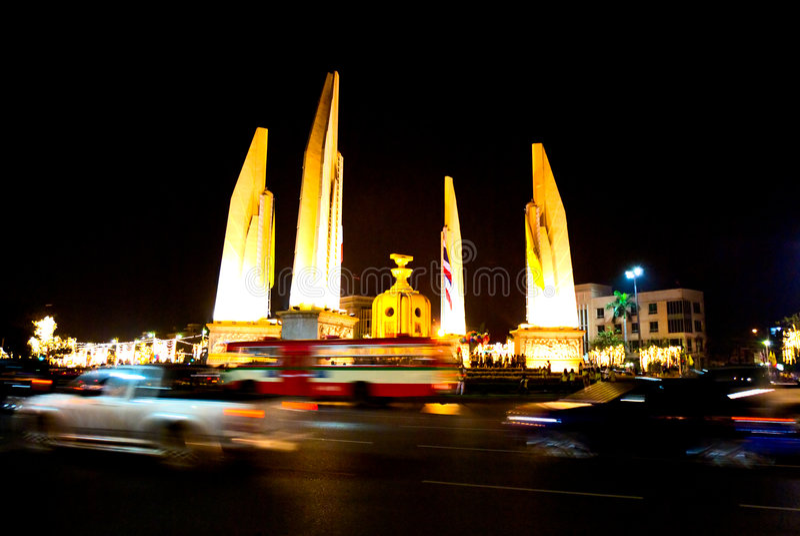 monument Thaïlande de ddemocracy de Bangkok image libre de droits