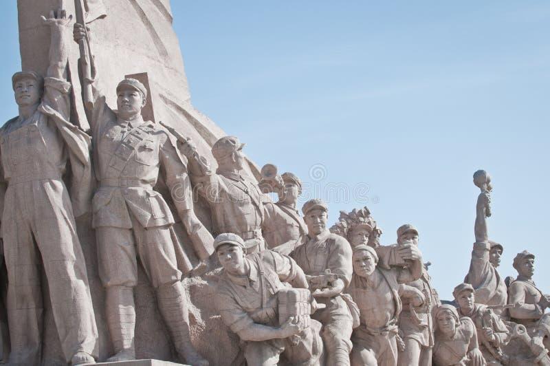 Monument am Tiananmen-Platz lizenzfreie stockfotografie