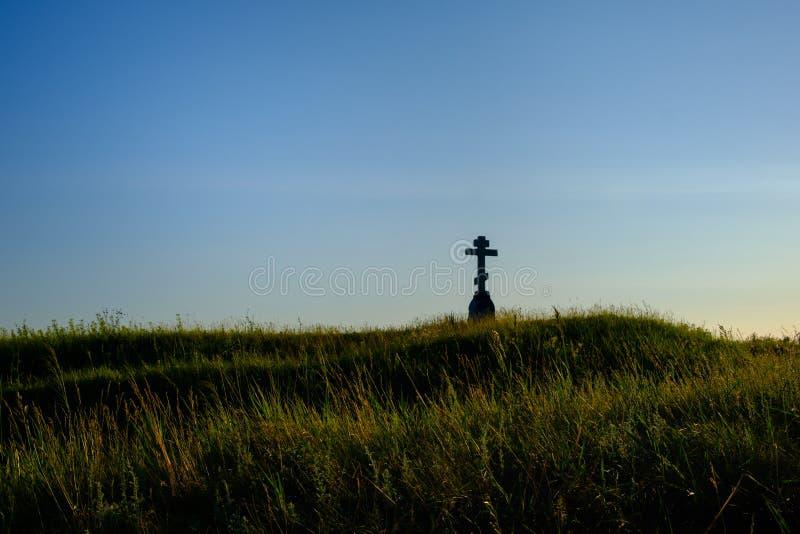 Monument till Czechoslovak legioner royaltyfri fotografi