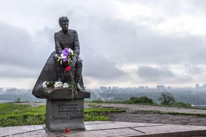Monument till de militära piloterna royaltyfri foto