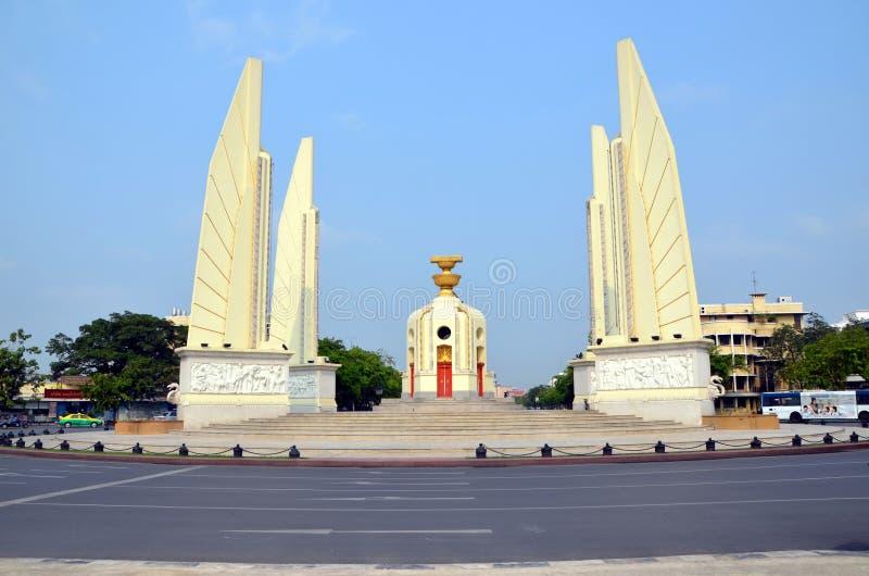 Monument till demokrati i Bangkok arkivfoto